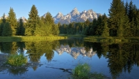 lake;water;grand-tetons;reflection;tree;mountain;colorado;co;landscape