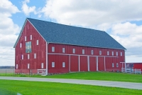 Farm;Barn;Red;Midwest;In