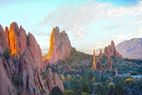Garden-of-the-Gods;Colorado;West;orange;pink;green;Colorado-Springs;Scenic