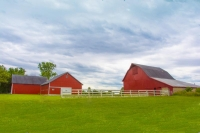 Barn;barns;farm;farming;red-green;iIndidna;Midwest;rural