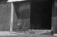 Barn-antique;old;gray;Indiana;Park-County;Midwest;farming