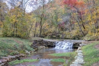 nature;water;stream;creek;river;flowing;fall;autumn;green;autumn;color