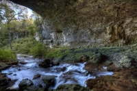 cave;smallin;ozark;mo;missouri;civil-war;water;spring;natural;underground;horizontal