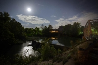 bridge;ozark;springfield;mo;missouri;mill;morning;horizontal;night;full-moon