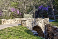 dogwood-canyon;mo;missouri;water;nature;spring;creek;lampe;bridge;stone