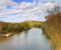 river;water;fall;sky;clouds;colors;eminence;mo;missouri