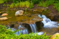 Waterfall;waterfalls;brook;moving-water;Indidna;Midwest;stream;Hamilton-County