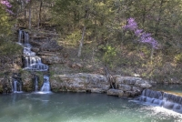 dogwood-canyon;mo;missouri;water;nature;spring;creek;lampe;water-fall;waterfall;thunder-falls